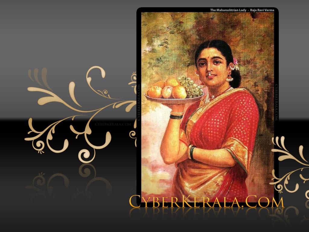 Wallpaper for Standard Screen Monitors   1 The Maharashtrian Lady 1024x768