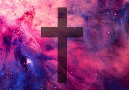 Galaxy Cross Wallpaper - WallpaperSafari