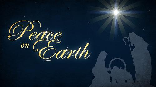 Christmas Peace Wallpaper - WallpaperSafari