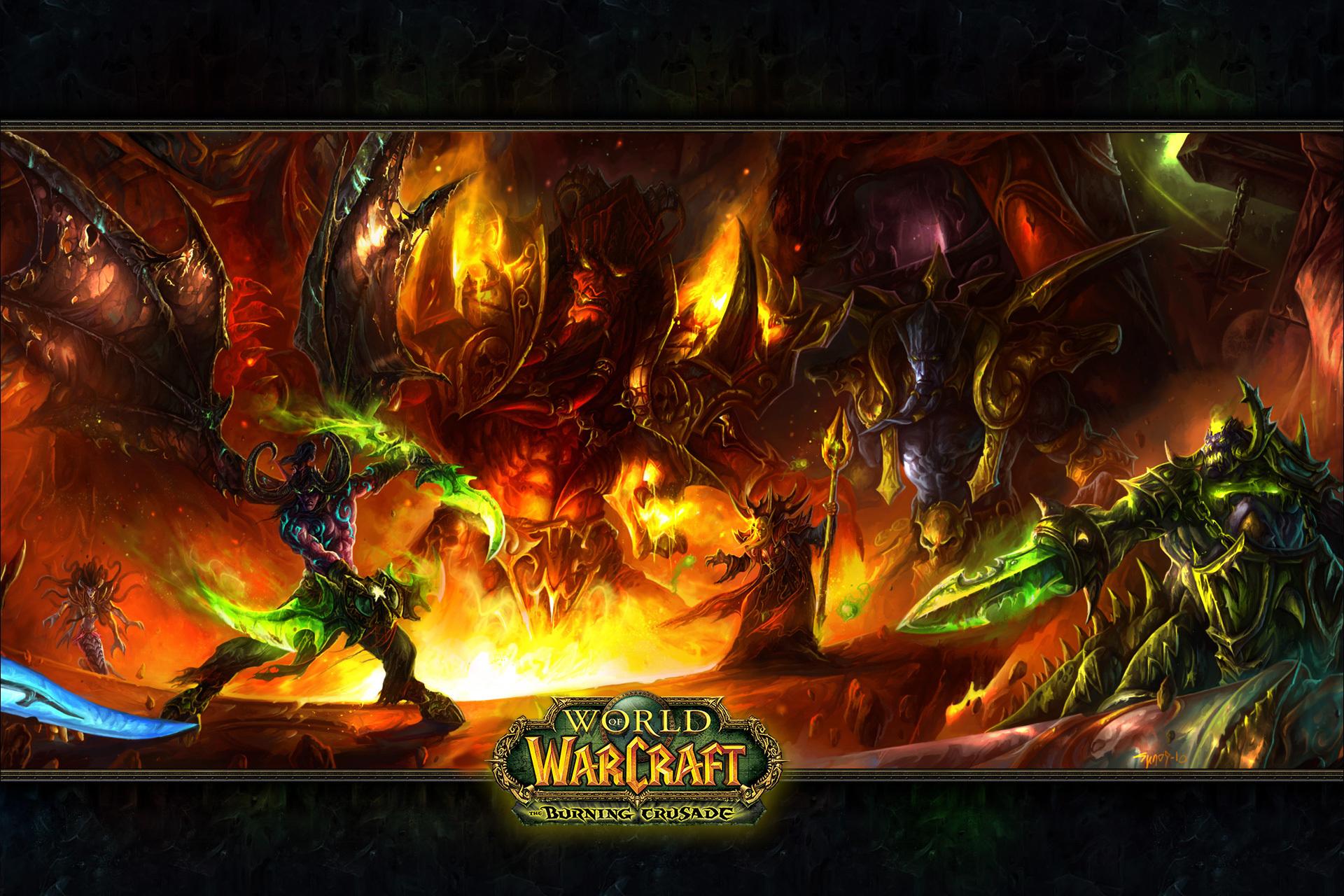 World of Warcraft   Desktop Wallpaper 1920x1280