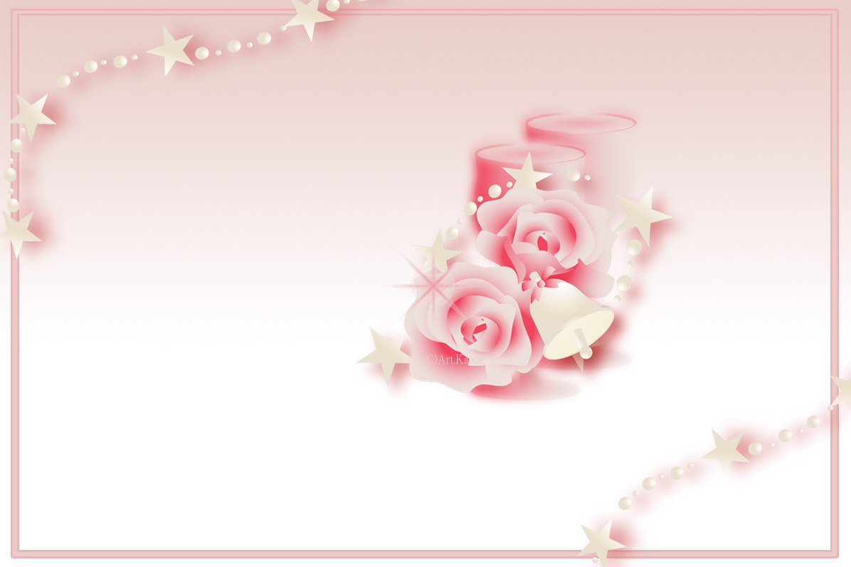 stars with pink roses backgrounds wallpapersjpg 1196x797