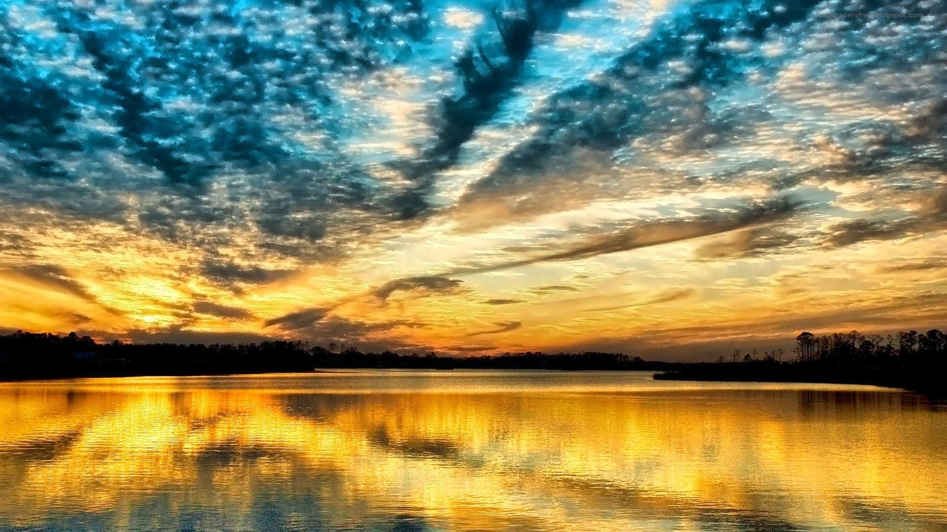 SunSet   Sunsets and Sunrises Wallpaper 19955133 Beautiful 1920x1080