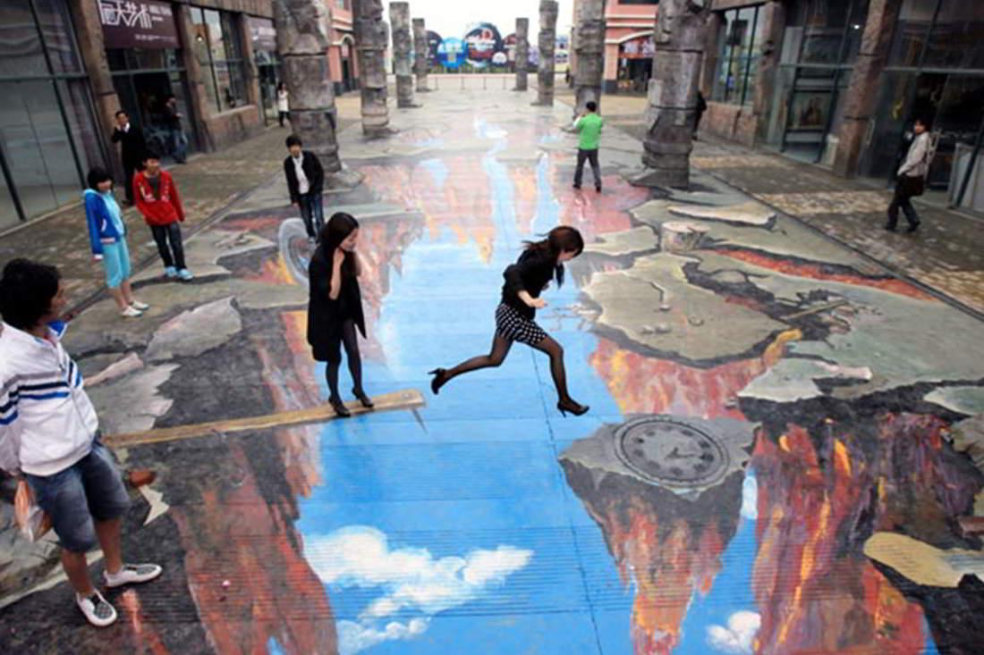 3D Street Art Wallpaper - WallpaperSafari