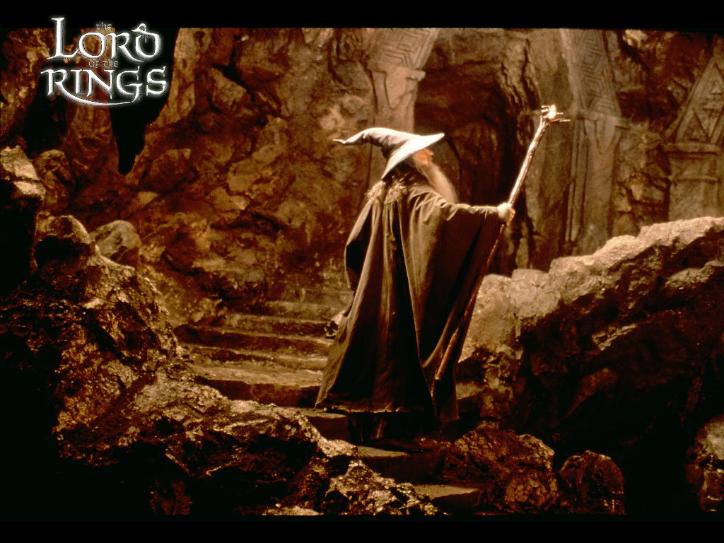 Wallpaper - Animaatjes lord of the rings 12219