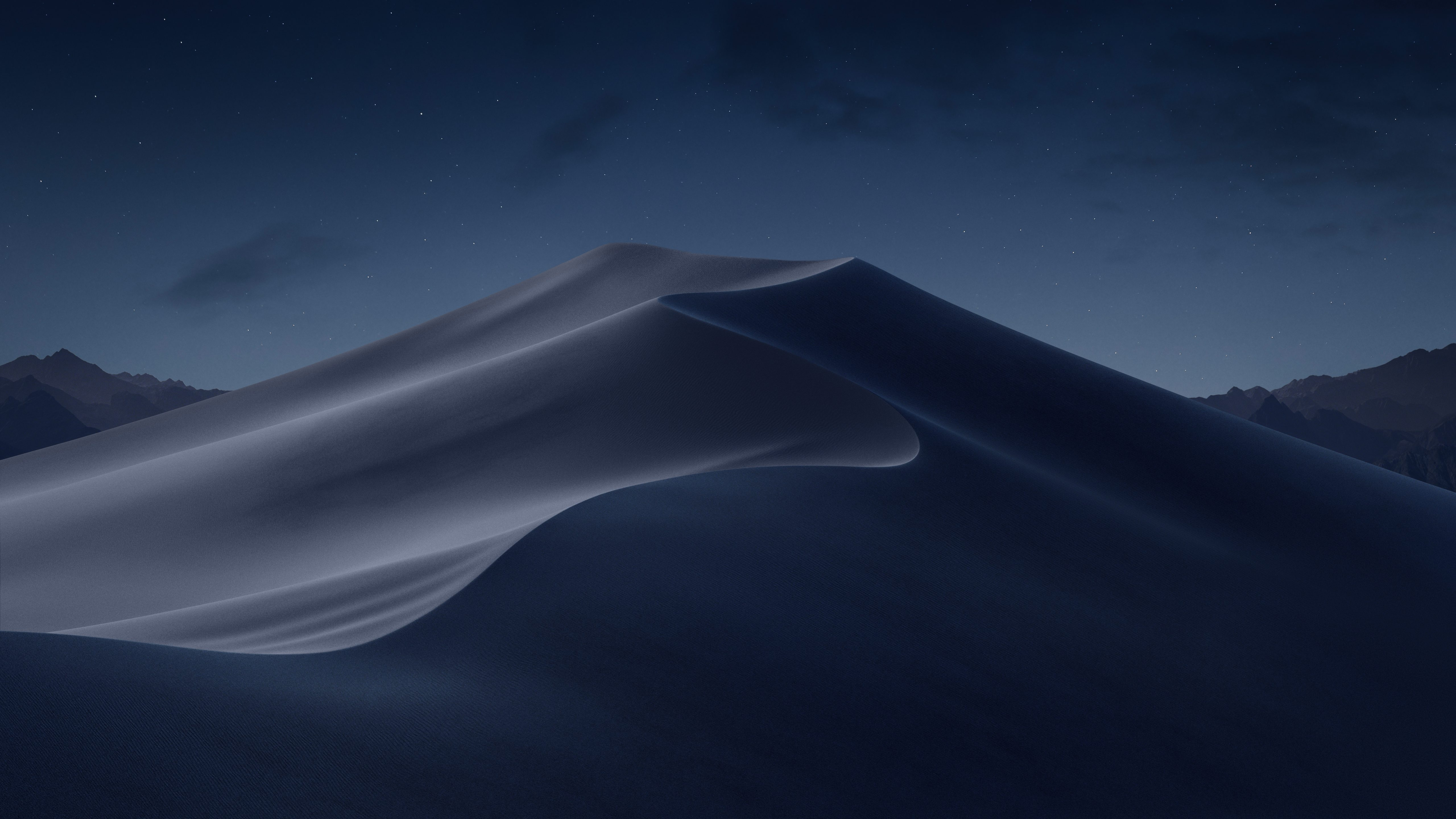 macOS Mojave includes two desert themed wallpapers download here 5120x2880