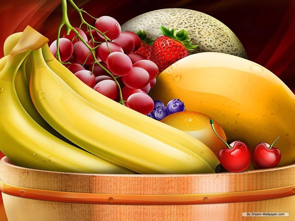 Mixed Fruit Wallpaper   Fruit Wallpaper 7004519 1024x768