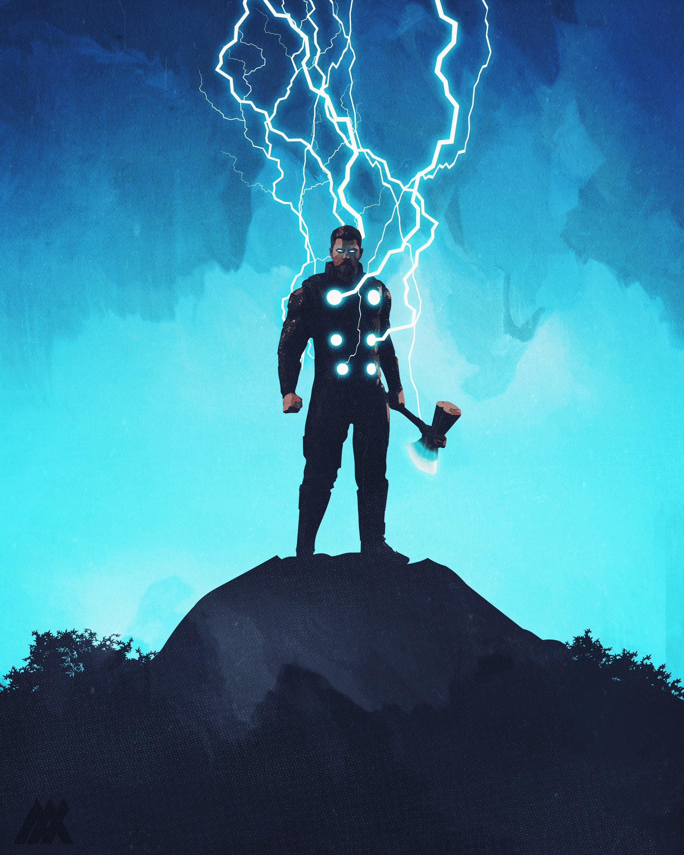 SPOILER] I had a ton of requests for this one THOR ARRIVES 2400x3000