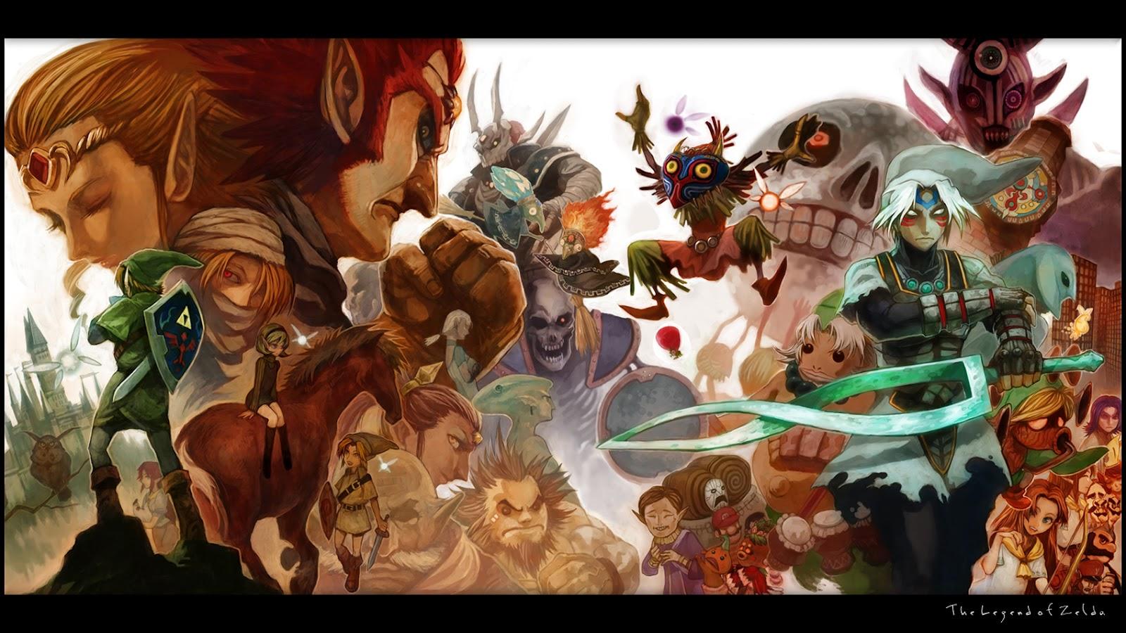 the legend of zelda majoras mask wallpaper background nintendo 1600x900