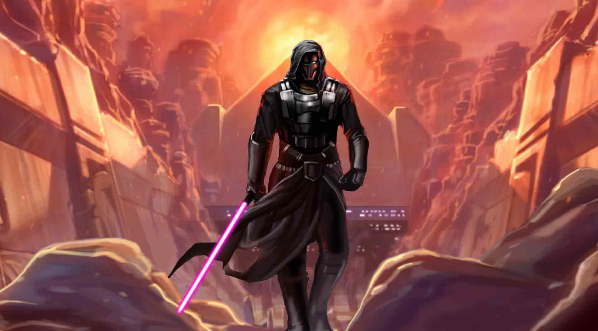 Wallpapers   The Old Republic wallpaper Revan wallpaper 1918x1063