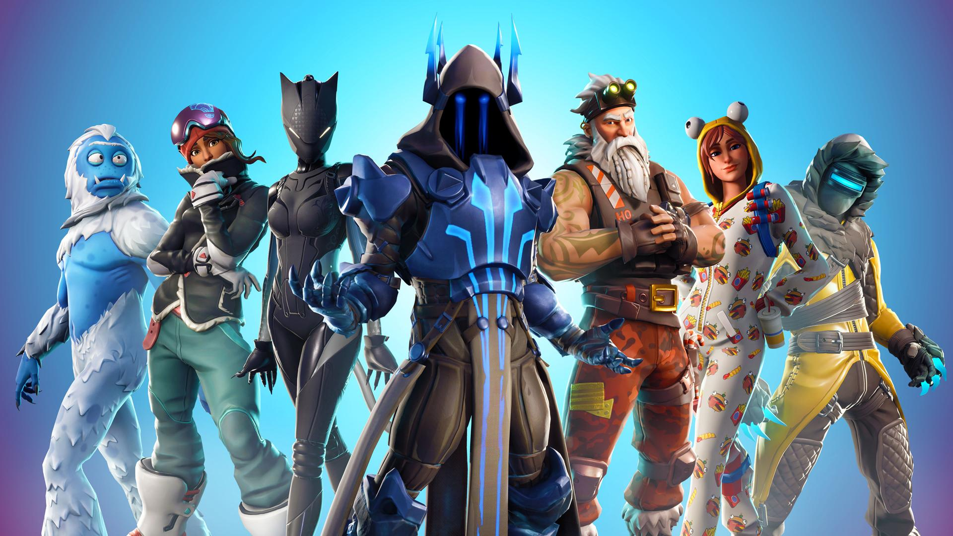 Fortnite Season 7 Wallpaper New Outfits 4422 Wallpapers and 1920x1080