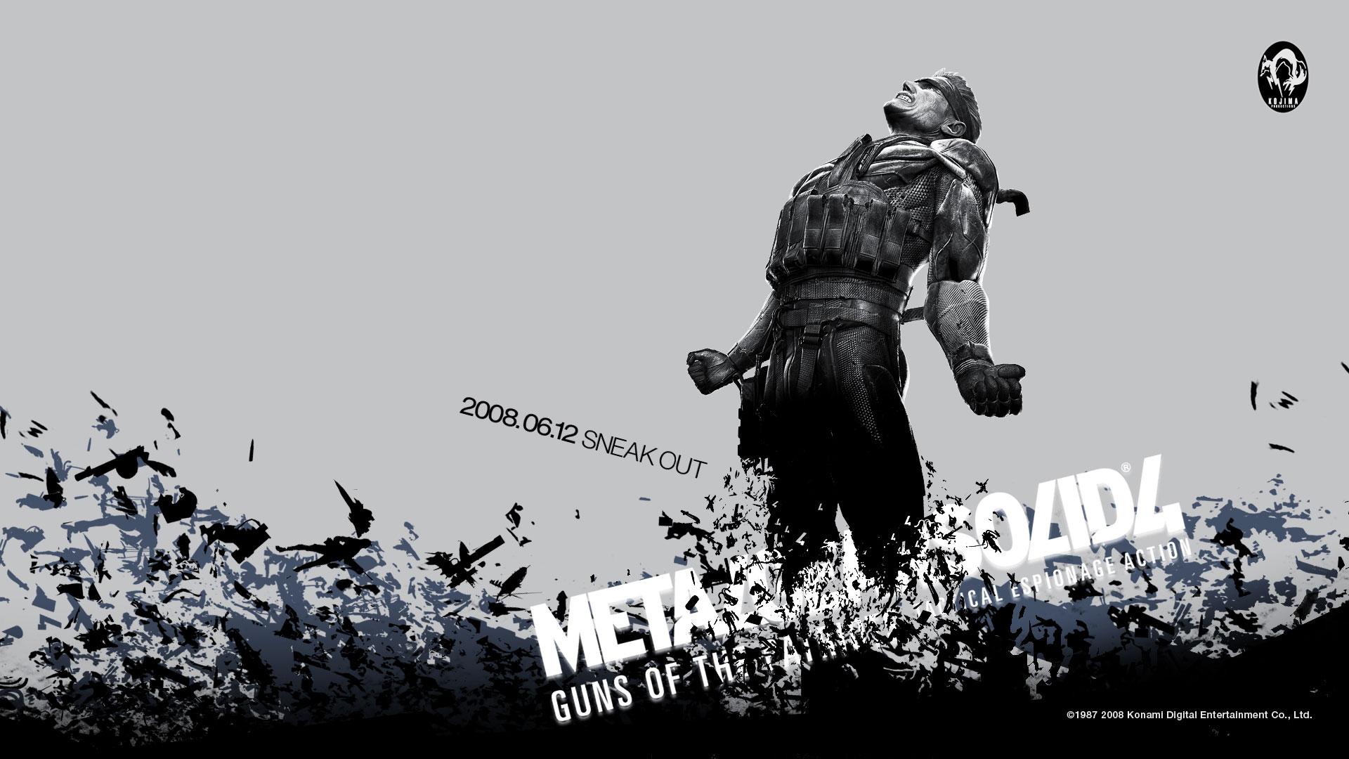 Metal Gear Solid 2 Wallpaper: Metal Gear Solid 3 Wallpaper
