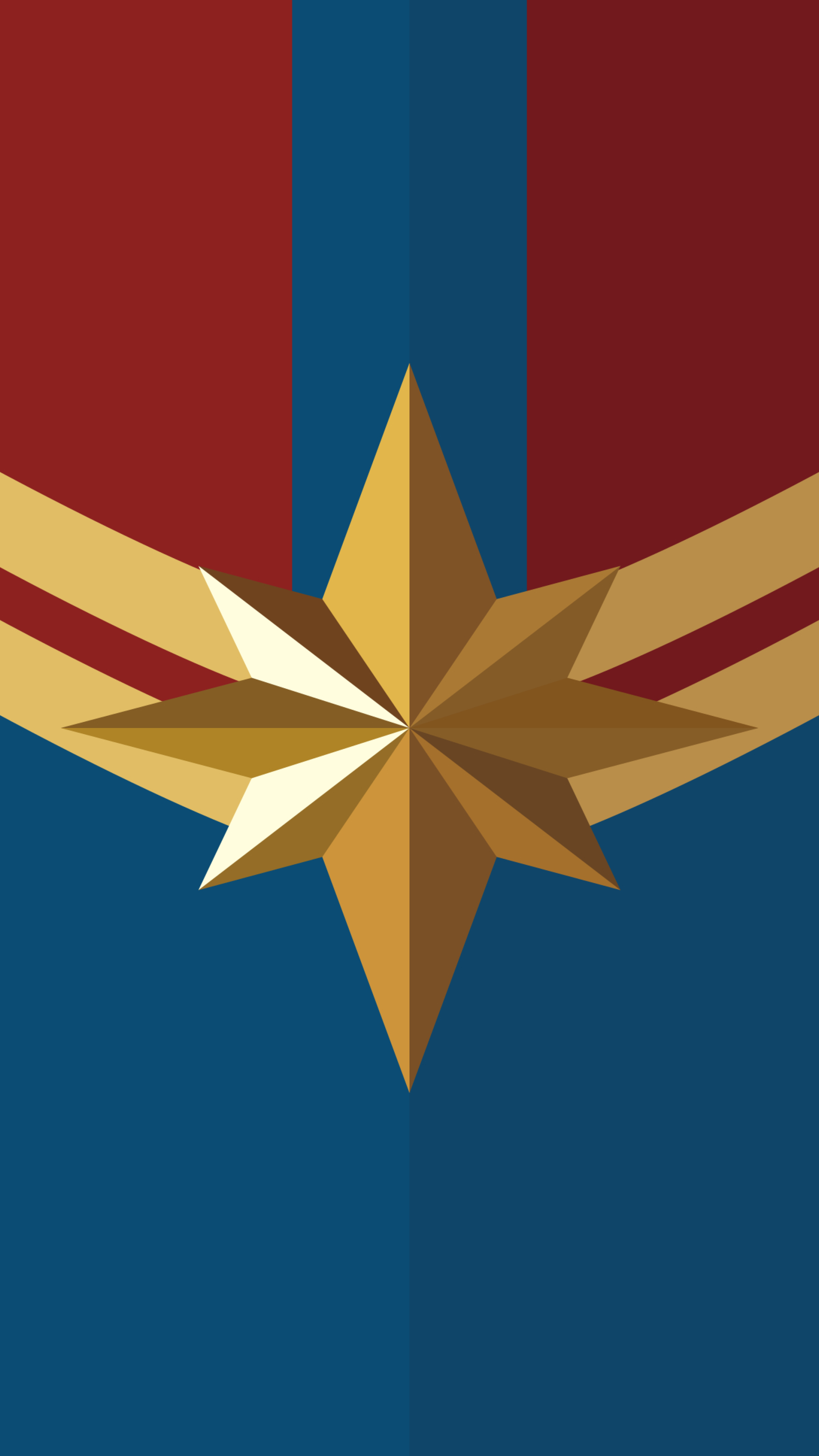 23 Captain Marvel Logo Wallpapers On Wallpapersafari