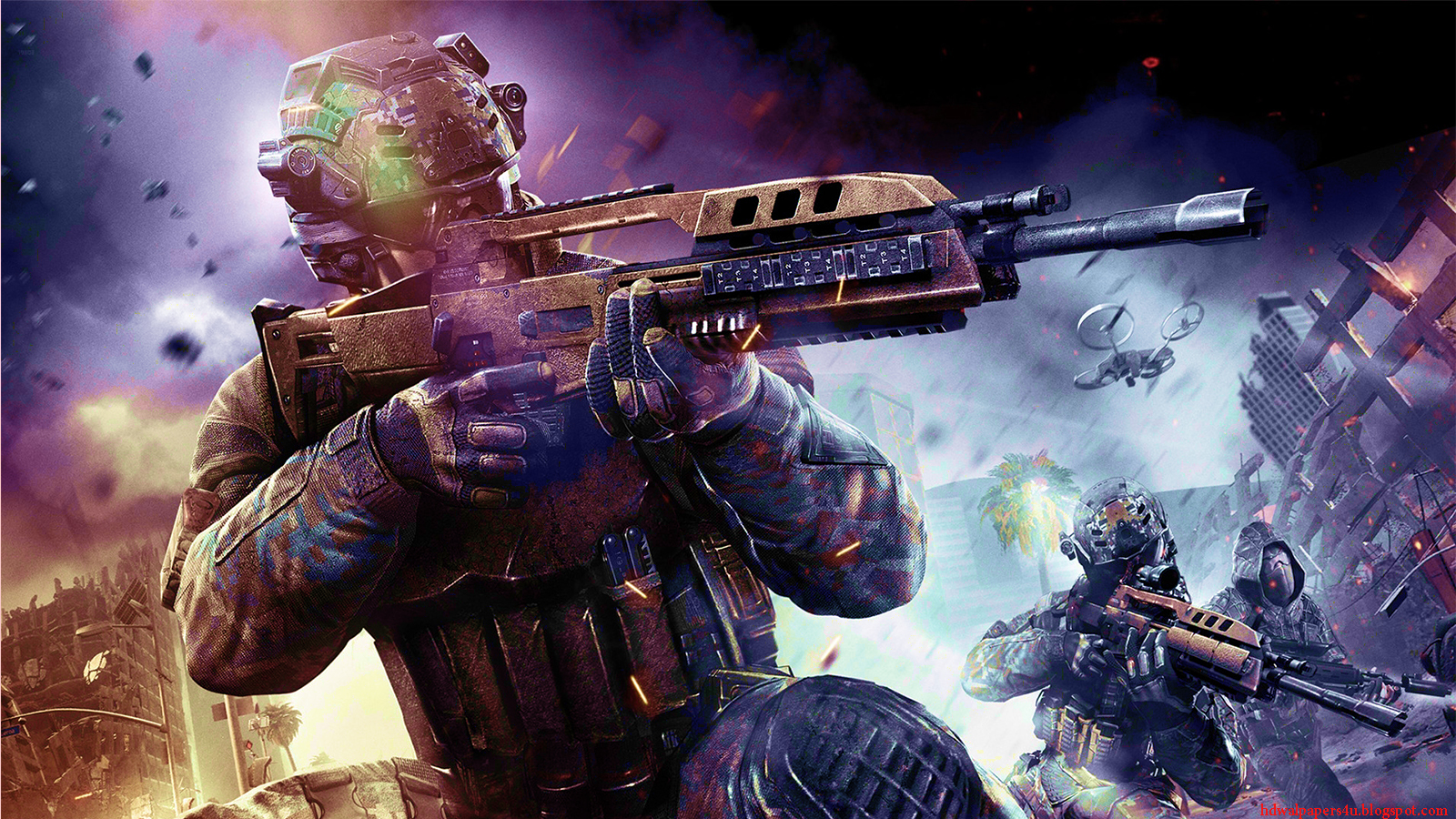 HD WALLPAPERS call of duty black ops 2
