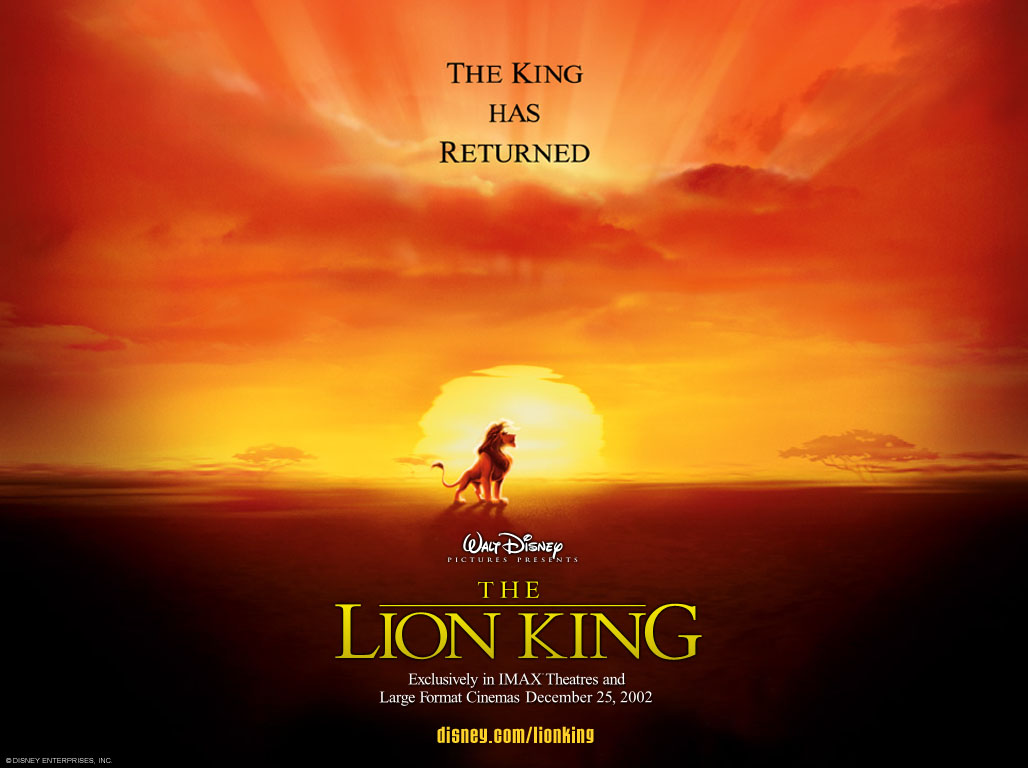 The Lion King Wallpapers 1028x768