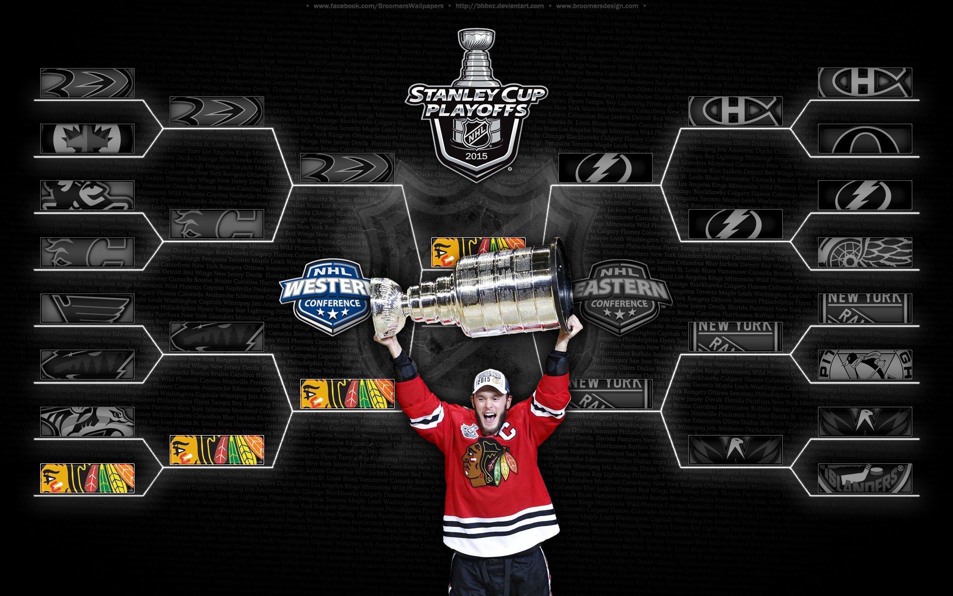 2015 stanley cup champions by bbboz watch fan art wallpaper other 2015 1920x1200
