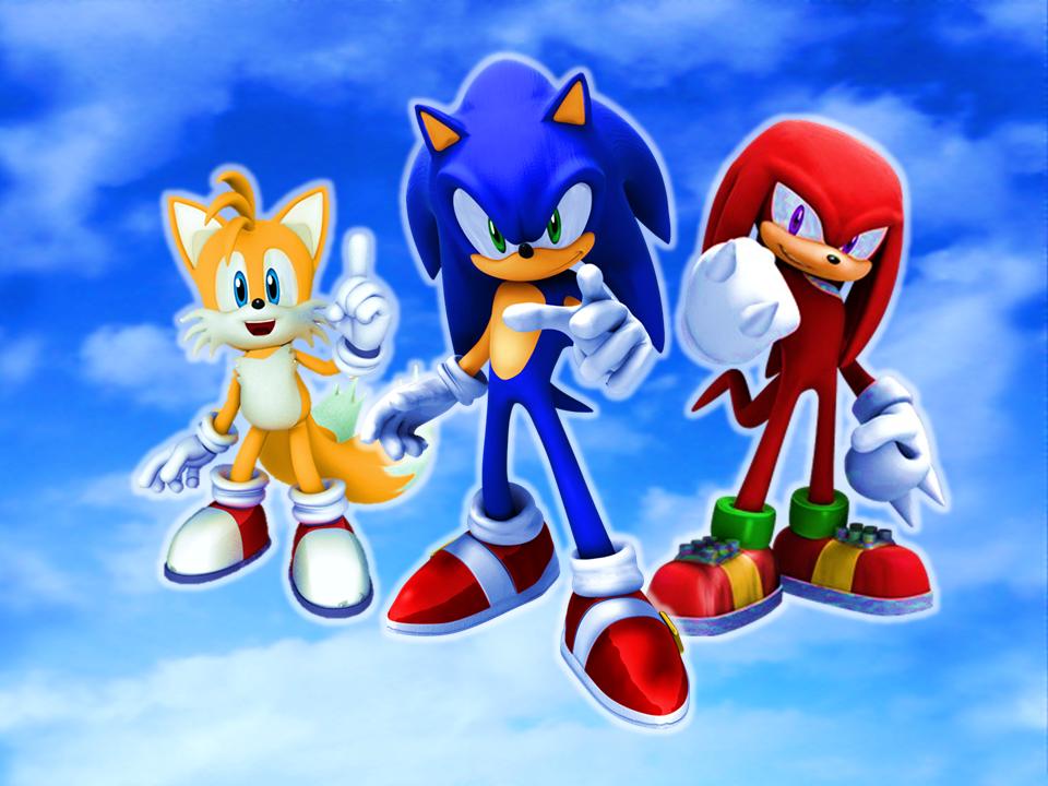 Team Sonic or Team Heroes Blue Sky Wallpaper by 9029561 960x720