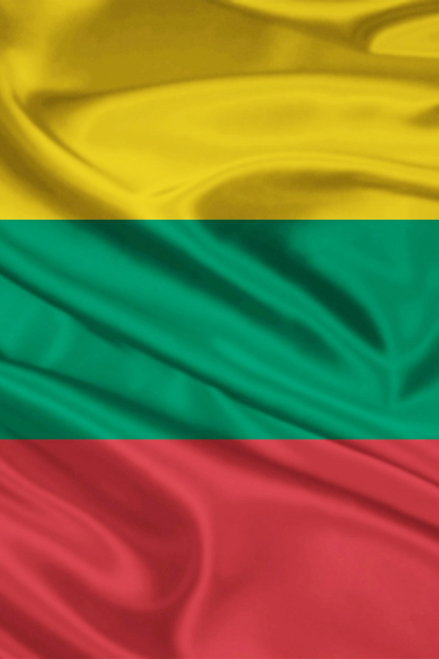 640x960 Lithuania Flag Iphone 4 wallpaper 640x960