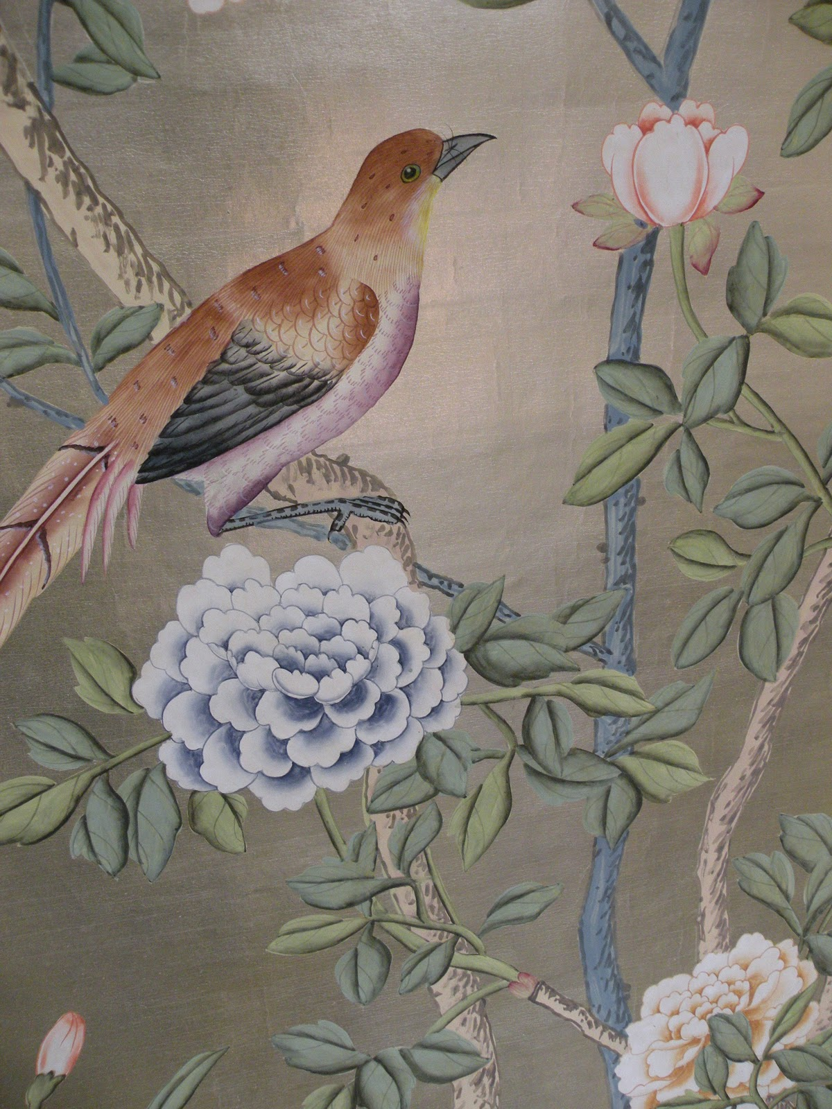 CHLOE VAN PARIS De Gournay Hand painted wallpaper 1200x1600