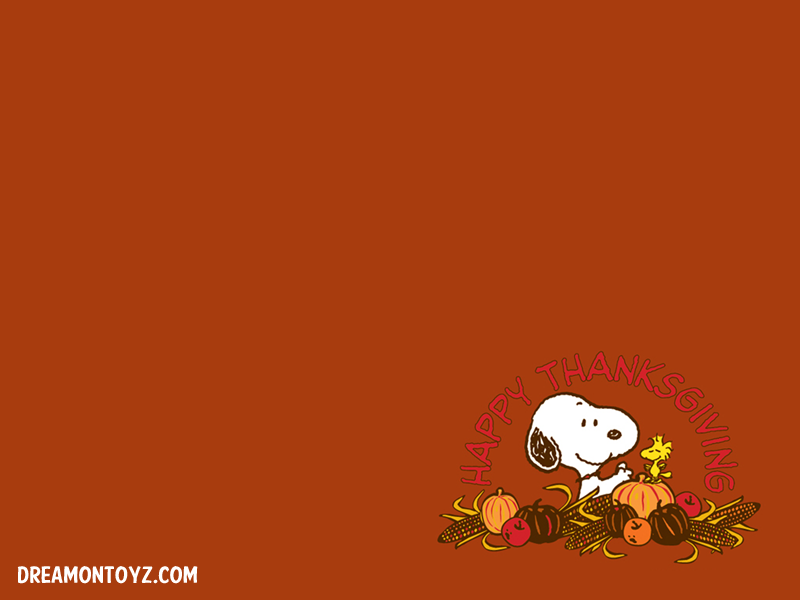 Pics Gifs Photographs Peanuts Snoopy Thanksgiving wallpapers 800x600