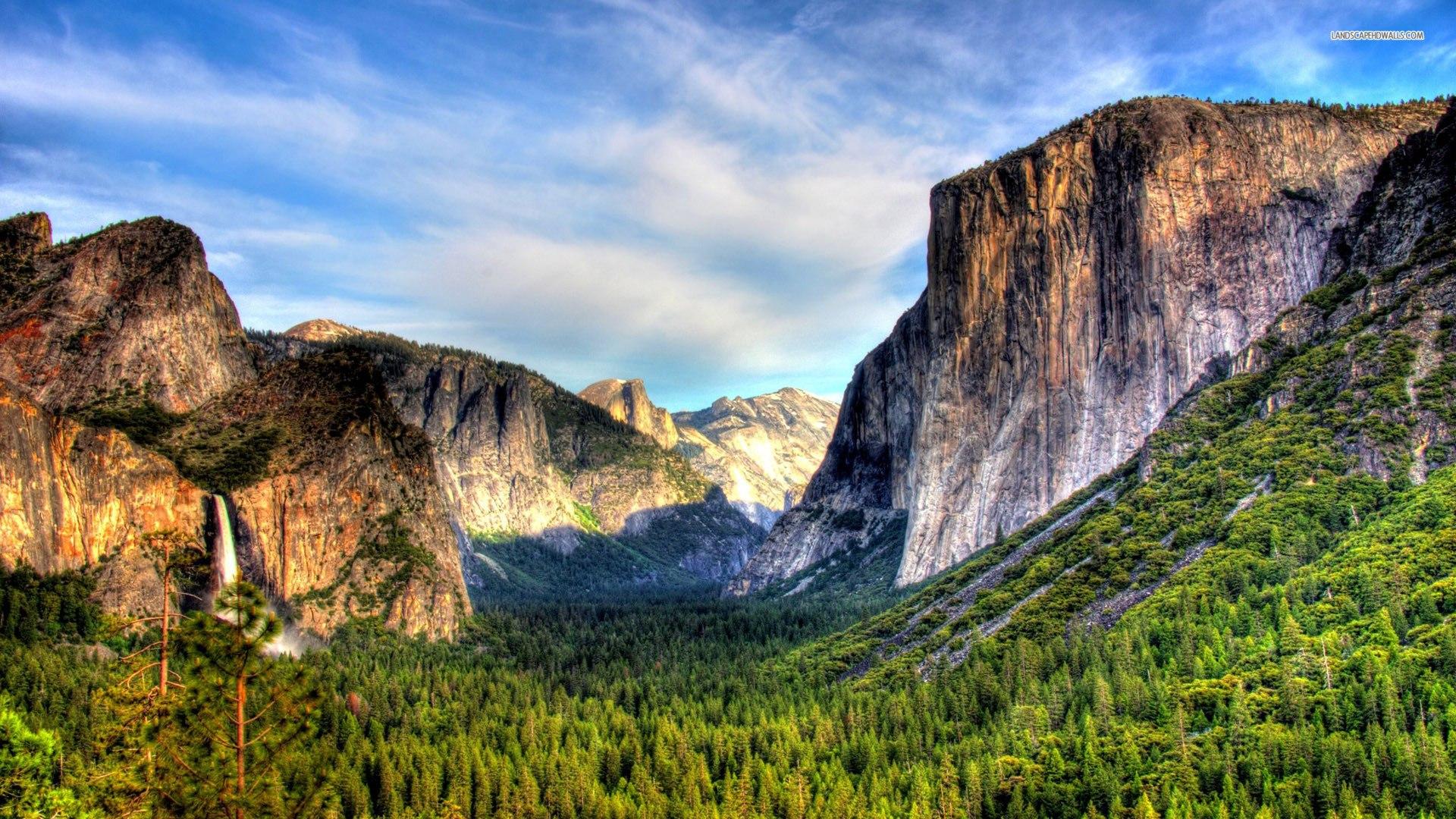 Yosemite Mountain Landscape Wallpaper HD 14 High Resolution Wallpaper 1920x1080