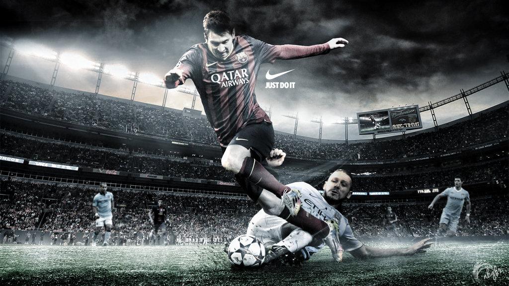 messi wallpaper by nirmalyabasu5 d7s1gwv Top 10 Lionel Messi 2015 1024x576