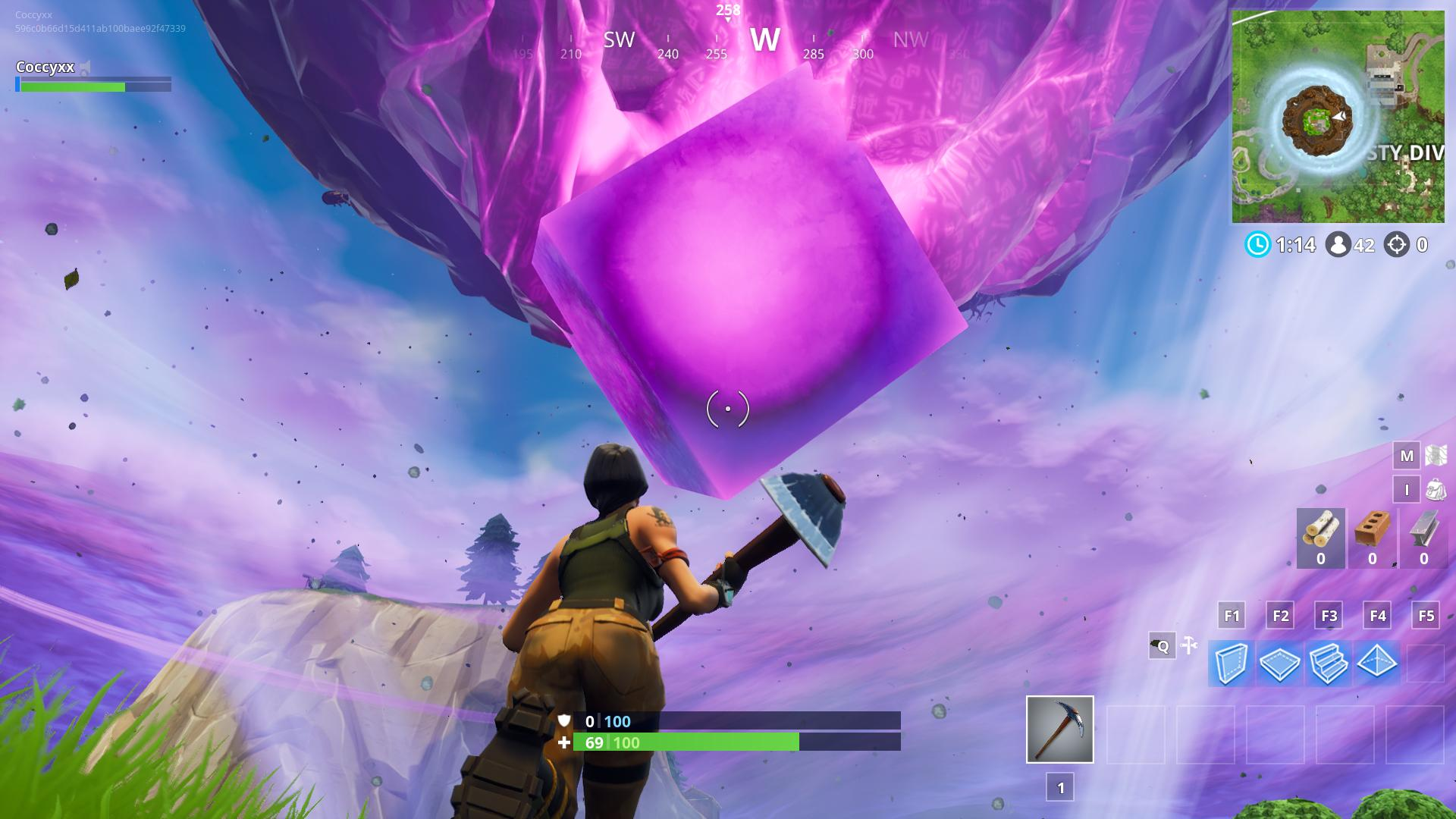 Whats going on with the Fortnite Cube Rock Paper Shotgun 1920x1080