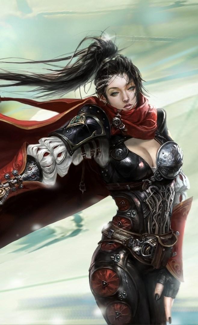 Women Warrior Fantasy Wallpaper iPhone 2020 3D iPhone Wallpaper 658x1080