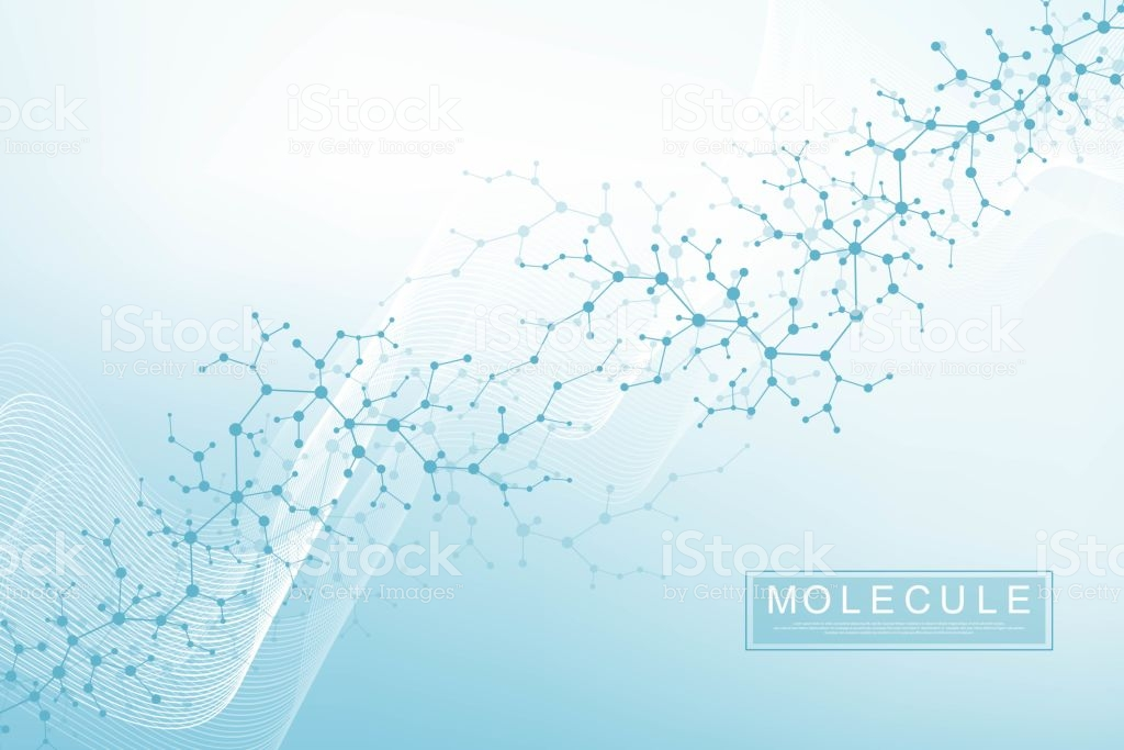Scientific Molecule Background Dna Double Helix Illustration With 1024x683
