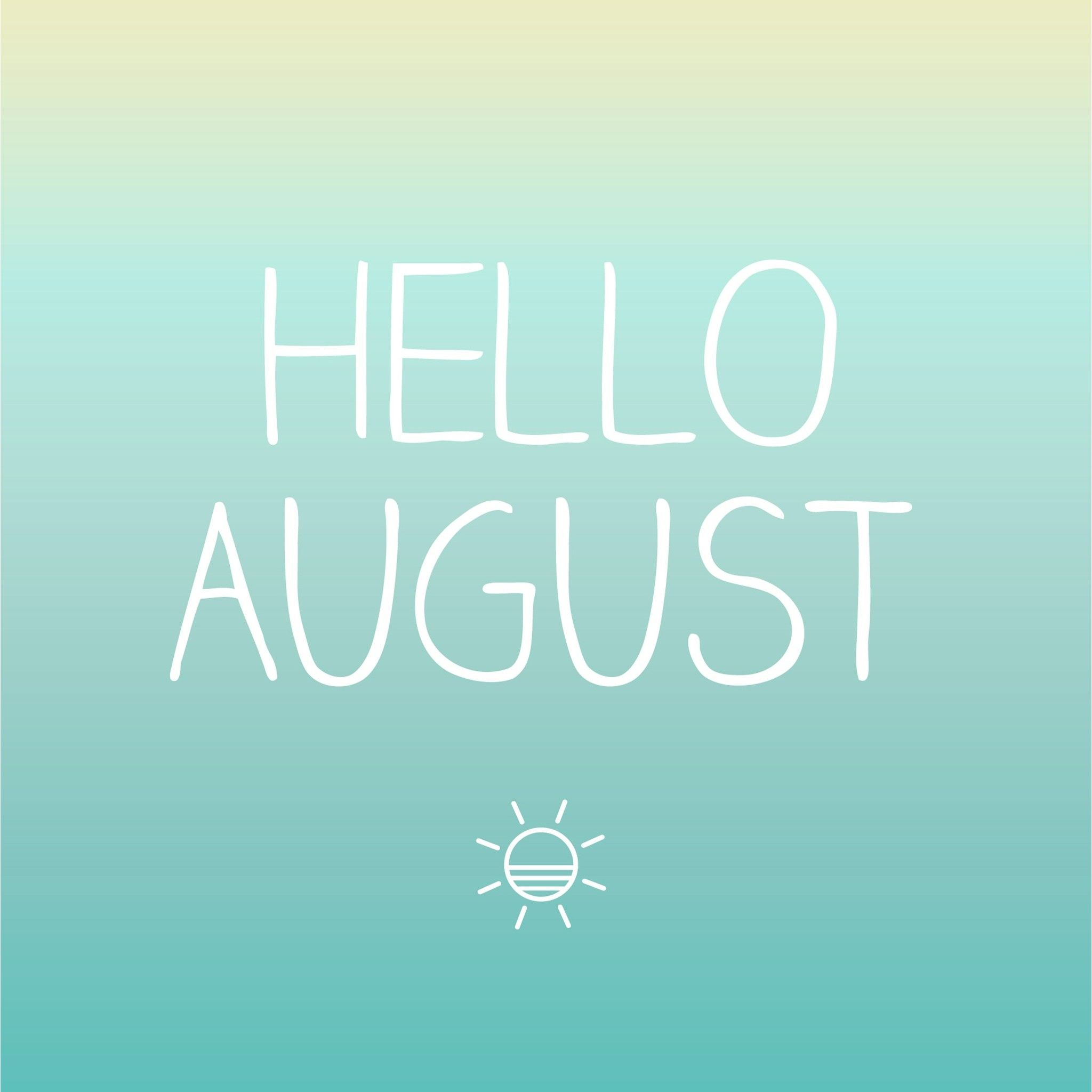 Hello August   Tap to see more August wallpapers mobile9 2048x2048