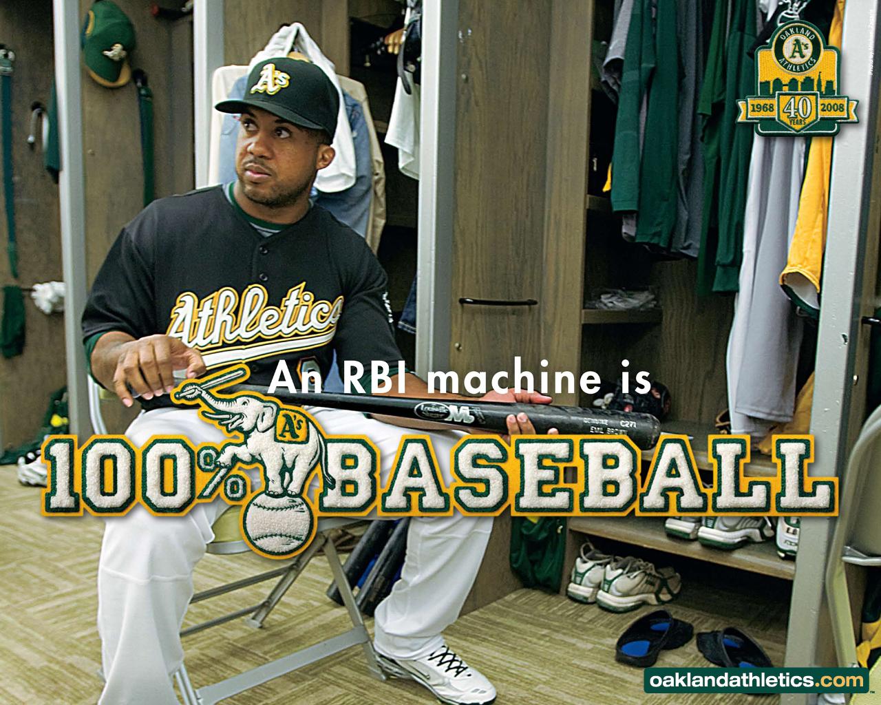 Oakland Athletics Rbis 171548 HD Wallpaper Res 1280x1024 DesktopAS 1280x1024