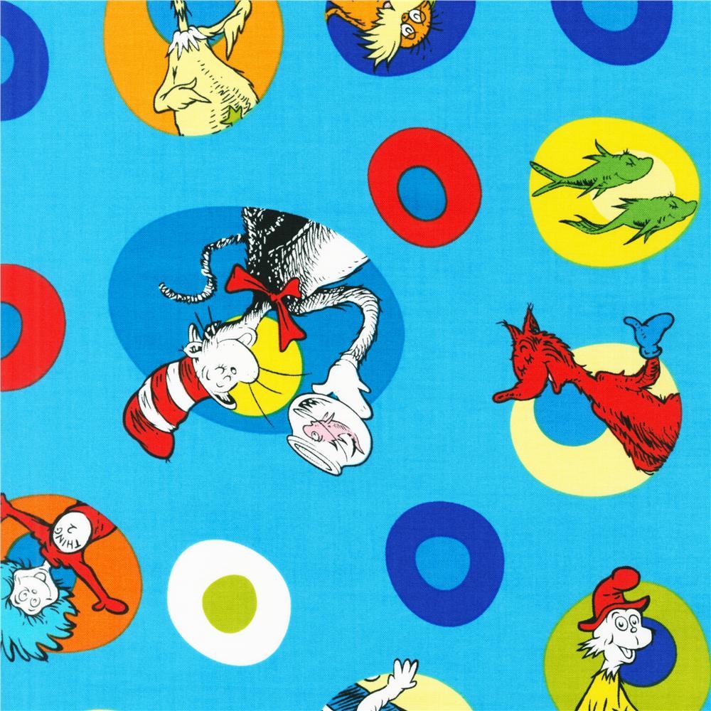 Celebrate Seuss Celebration Character Cameos Turquoise 1000x1000
