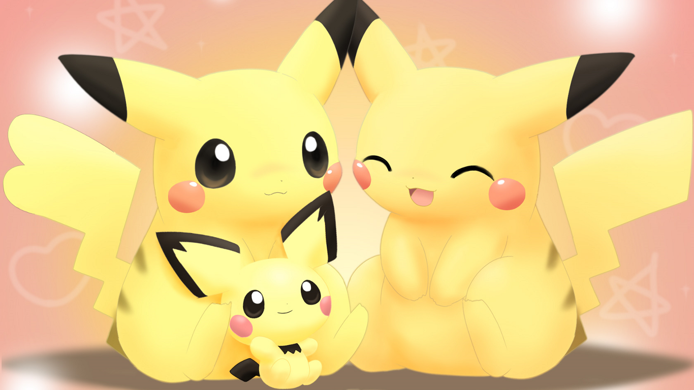 Pokemon Pikachu Wallpaper 1366x768 Pokemon Pikachu 1366x768