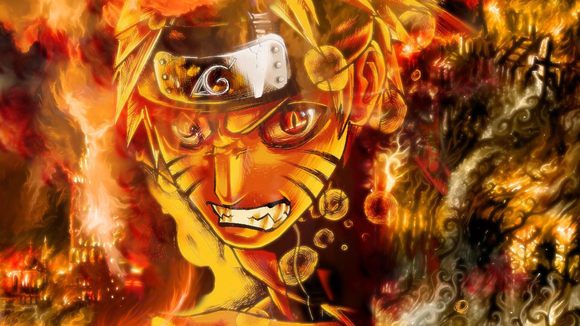 Naruto Kyuubi Cloak 1u Wallpaper HD 1920x1080