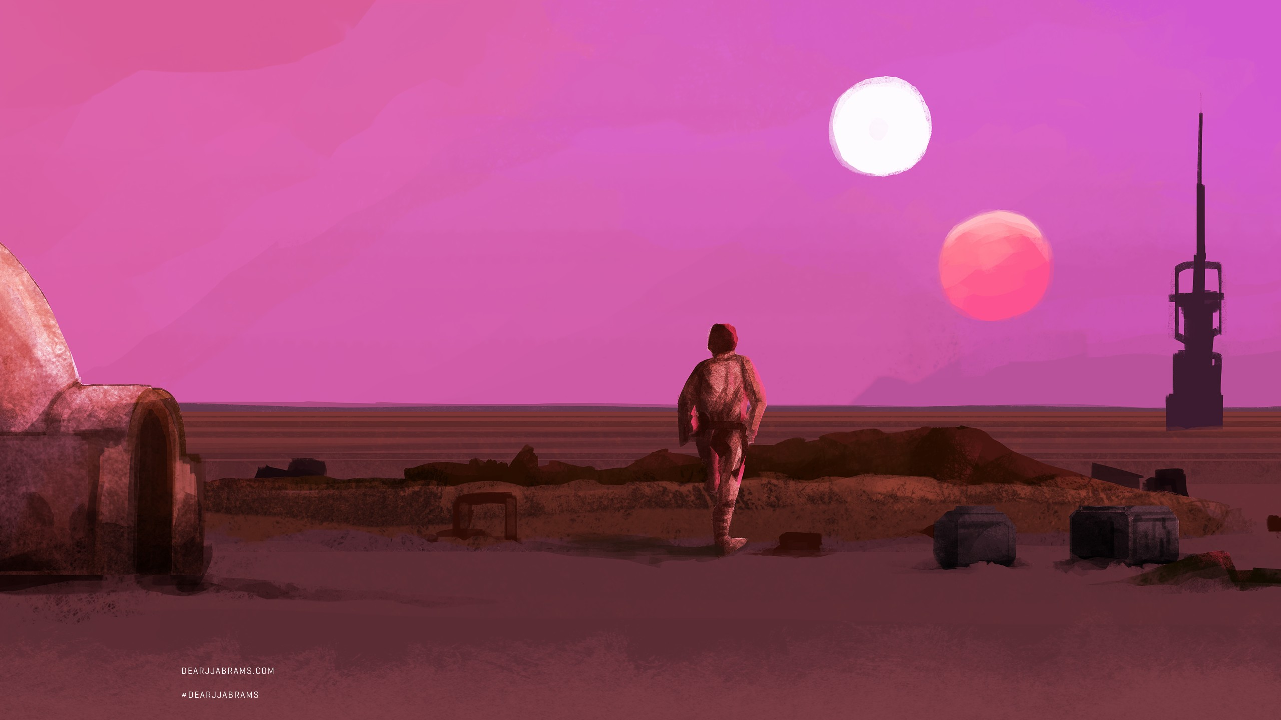 Tatooine Lukes Farm Wallpaper by HD Wallpapers Daily