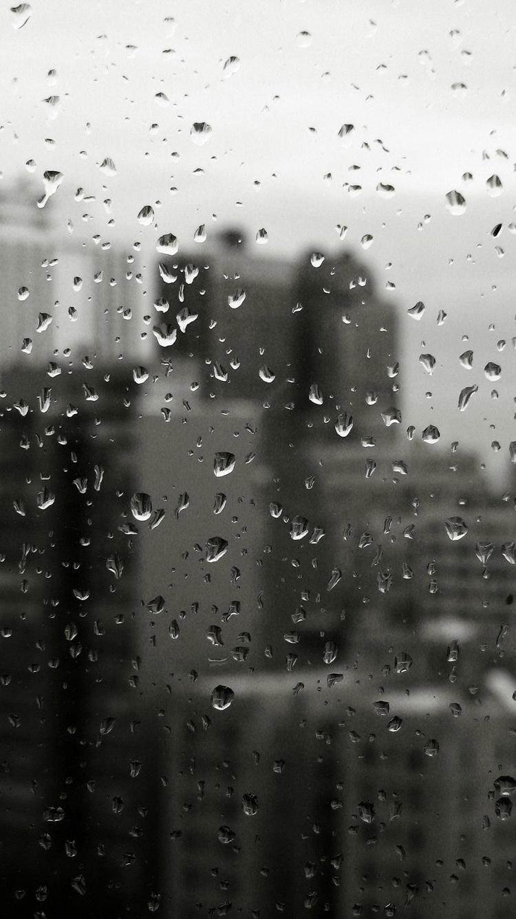IPhone Raindrop Wallpaper   52DazheW Gallery 750x1334