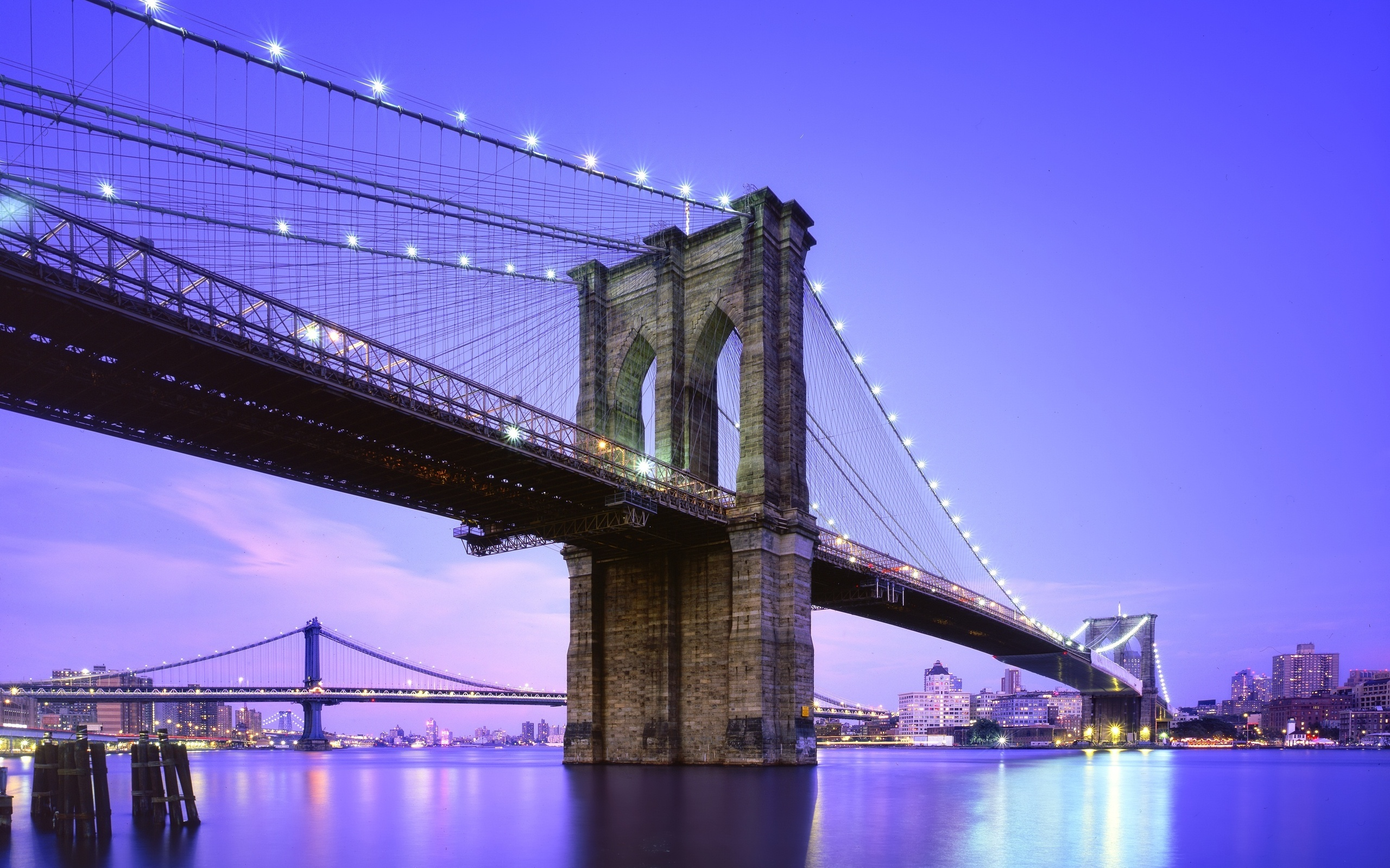 Brooklyn Bridge Wallpapers - 2560x1600 - 1256354