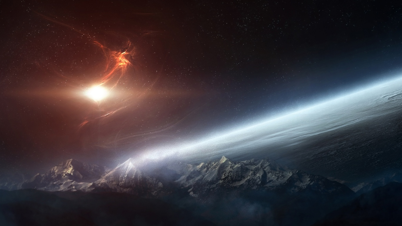 1366x768 Space desktop PC and Mac wallpaper 1366x768