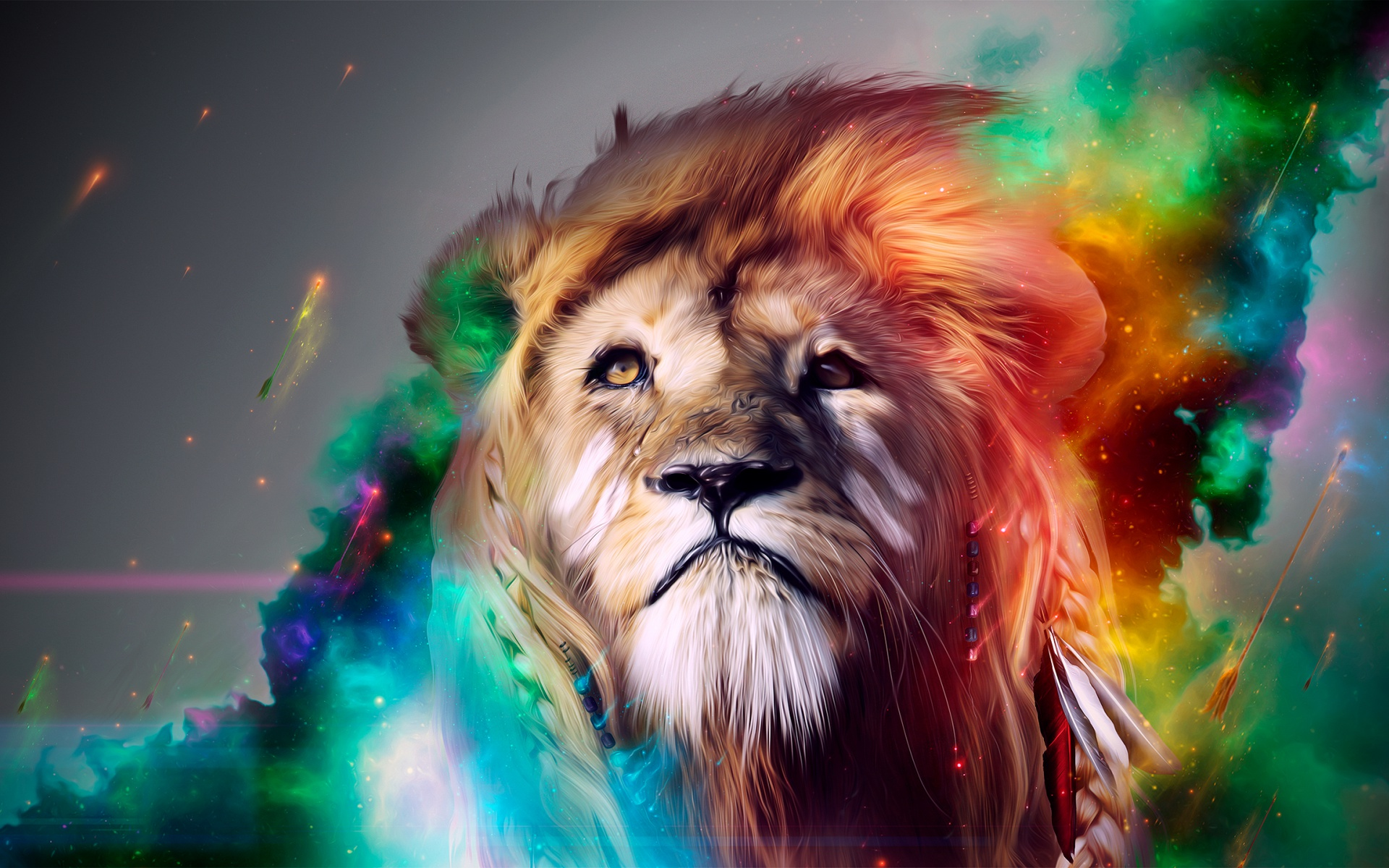 Lion Abstract Wallpapers HD Wallpapers 1920x1200