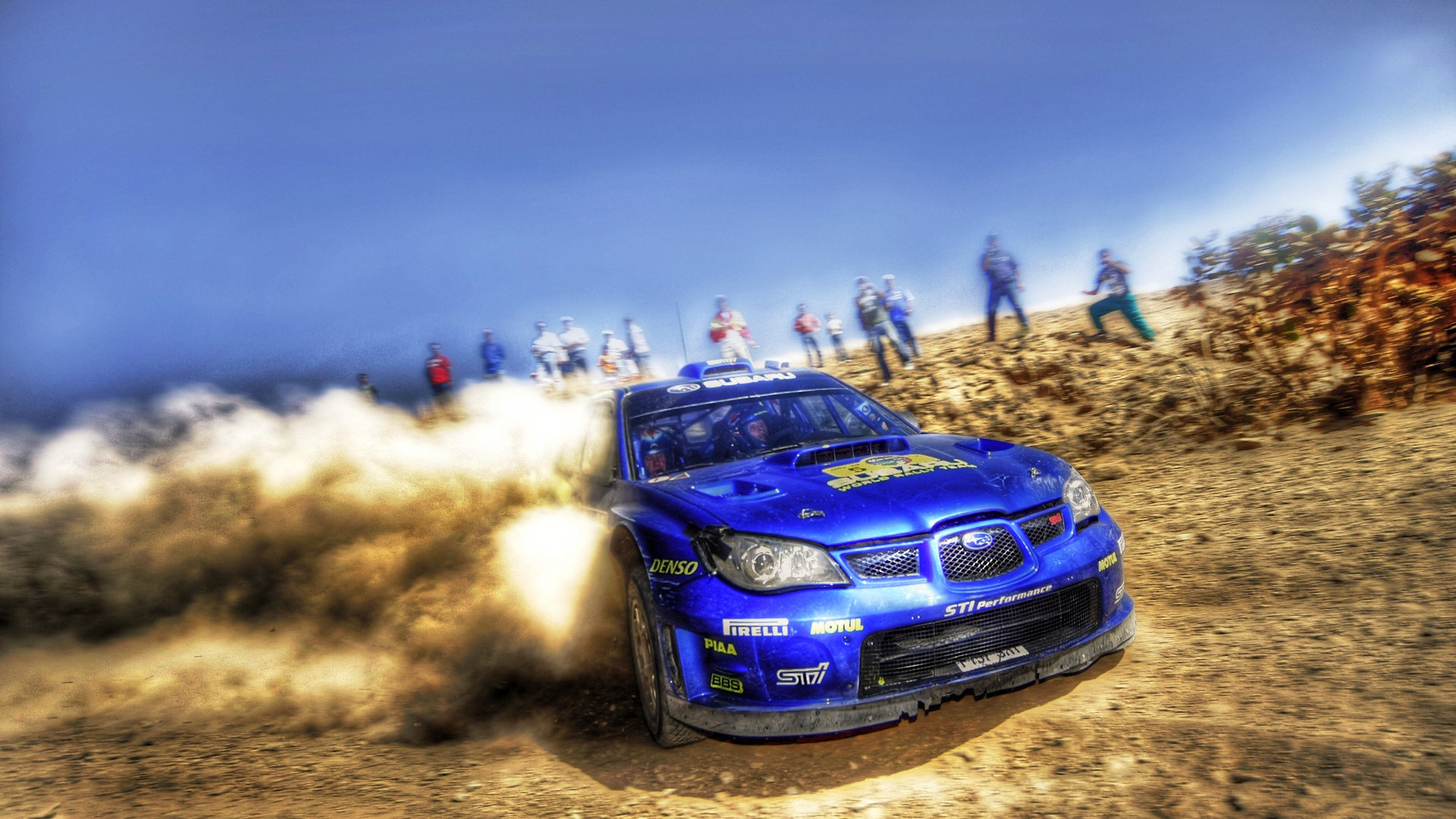 Blue Subaru Rally Car HD Wallpapers HD Wallpapers Source 1920x1080