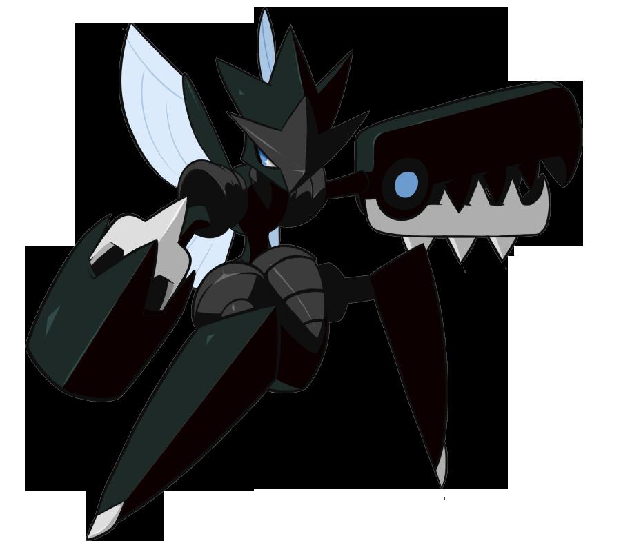 Free Download Shiny Mega Scizor My Version By Randompeak