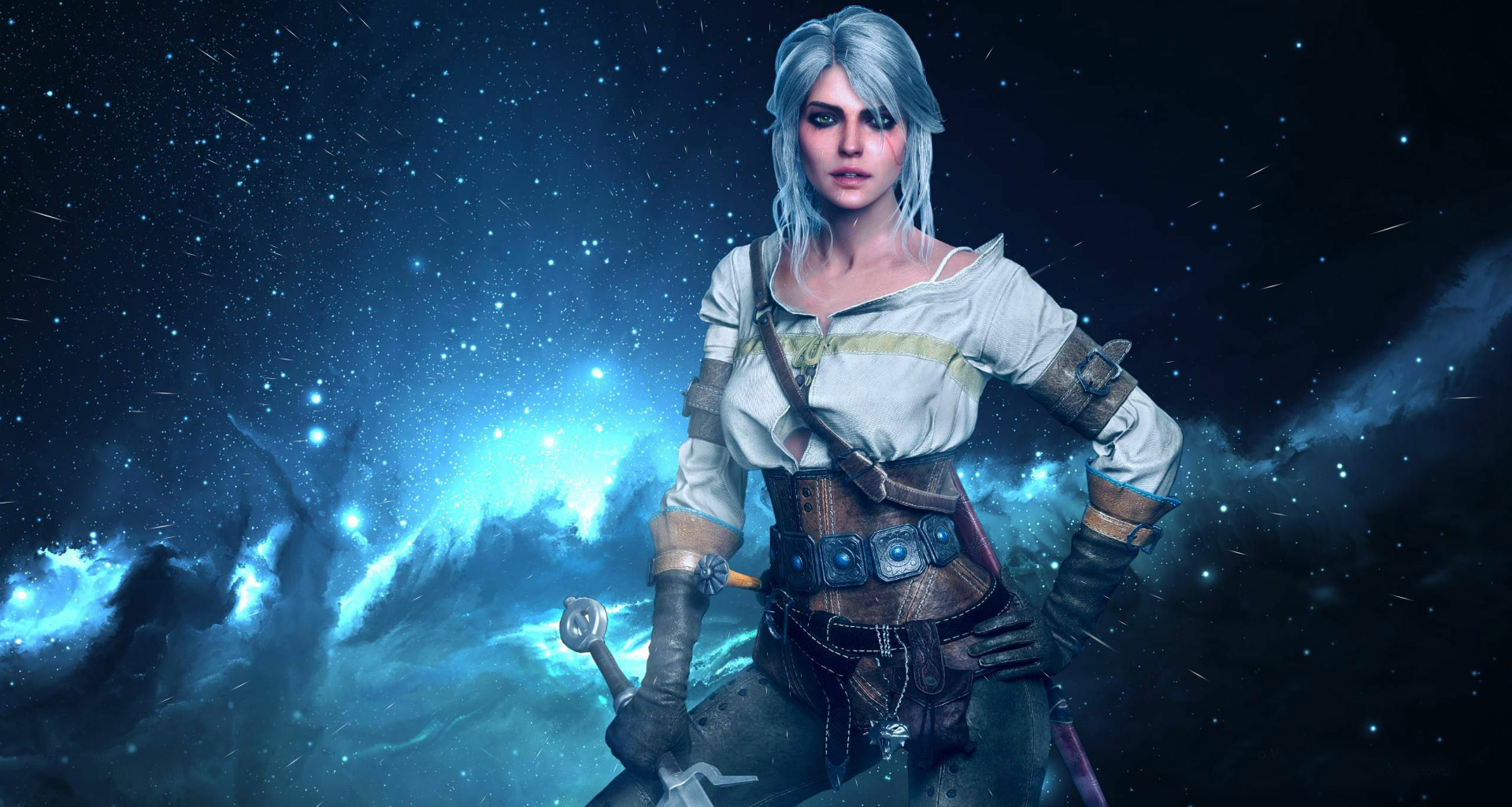 Ciri The Witcher 3 Animated Live Wallpaper 1920x1026