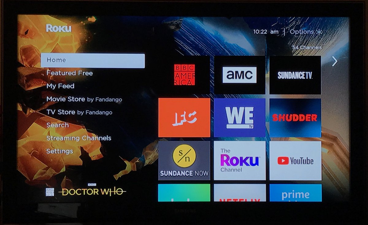 Doctor Who on BBC America on Twitter Roku users you can now 1200x736