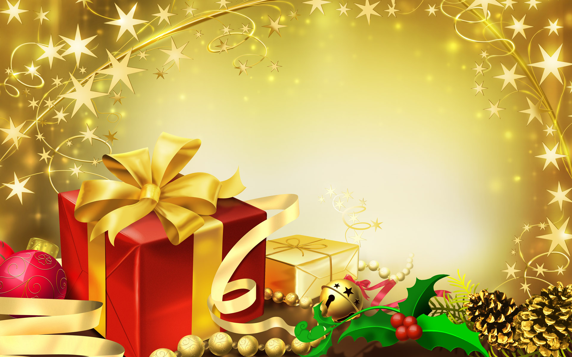 Holiday Gifts Wallpaper 1920x1200