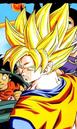 Goku Live Wallpaper - WallpaperSafari