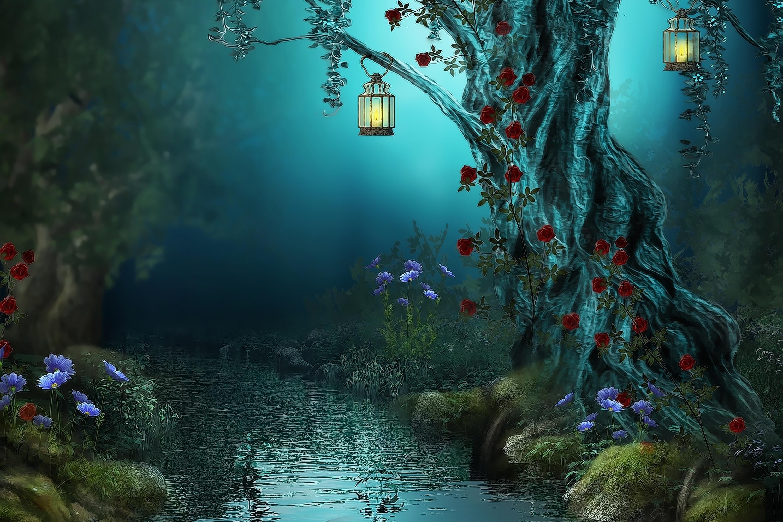 Fantasy Forest Wallpaper 30002000 Wallpaper 3000x2000