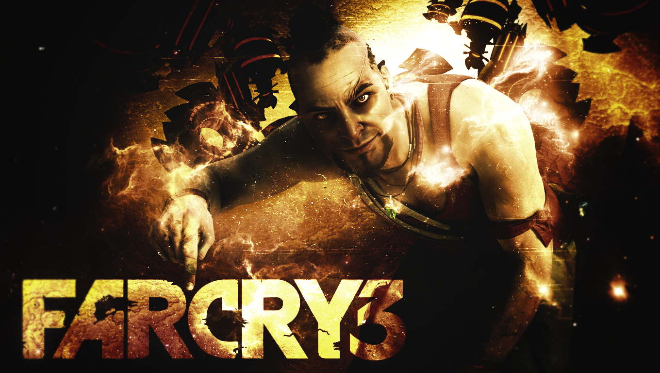 Far Cry 3 Vaas Wallpaper by Gigy1996 1360x768