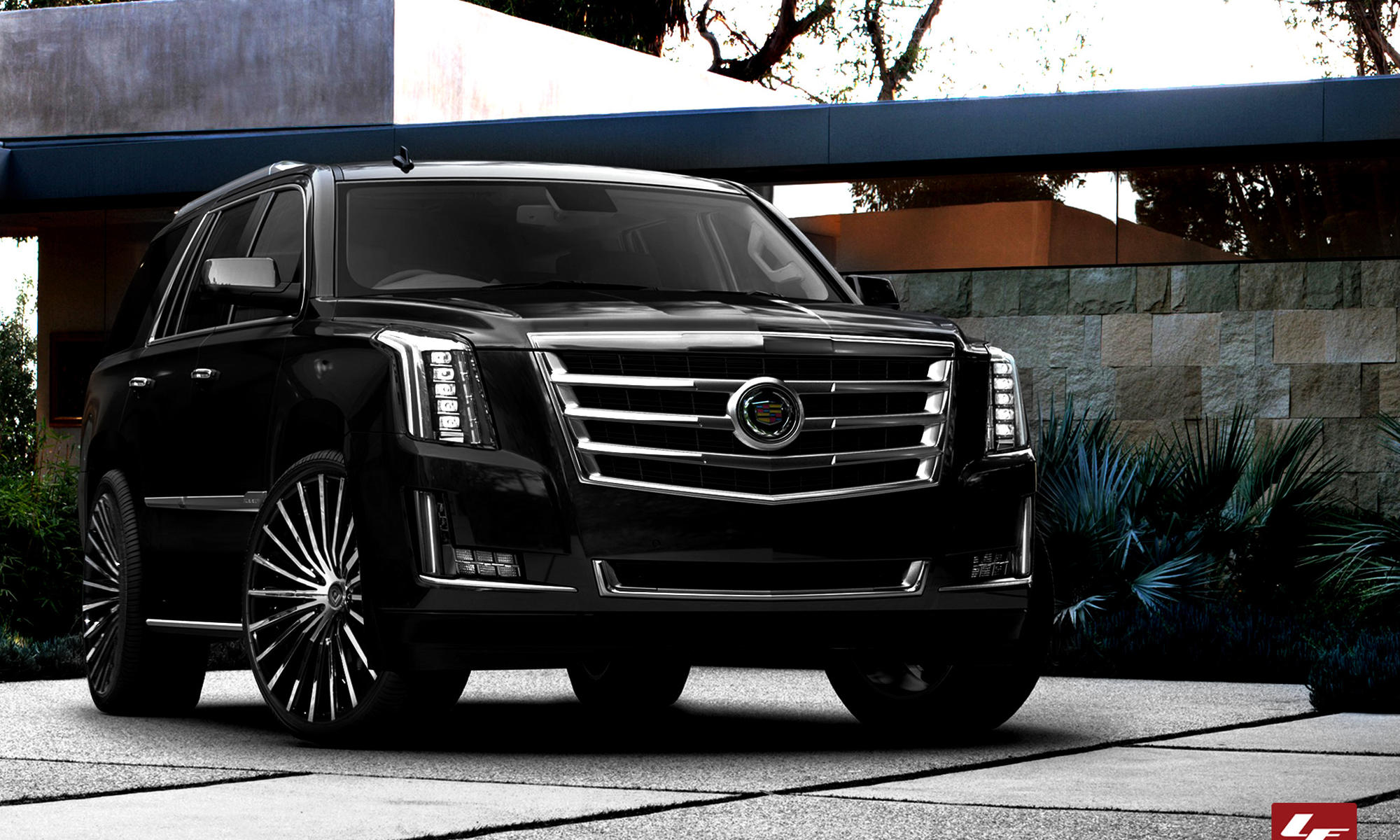 2015 cadillac escalade hd background wallpapers
