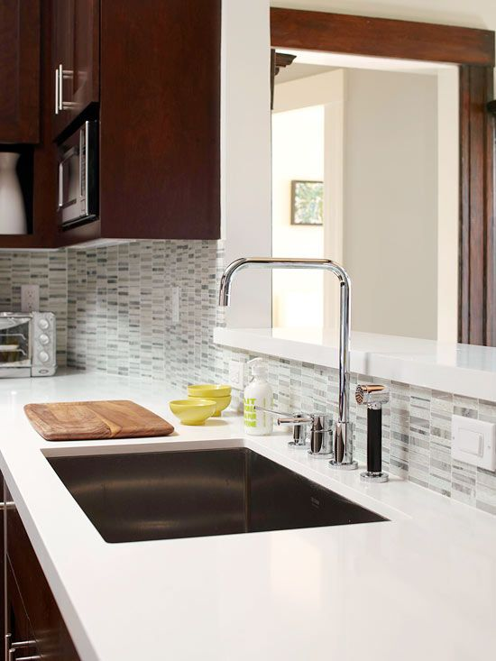 do ourselves or help Randy with A tiled backsplash adds waterproof 550x733