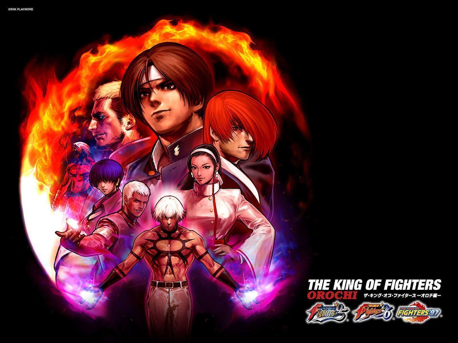 72+] King Of Fighters Wallpaper on WallpaperSafari
