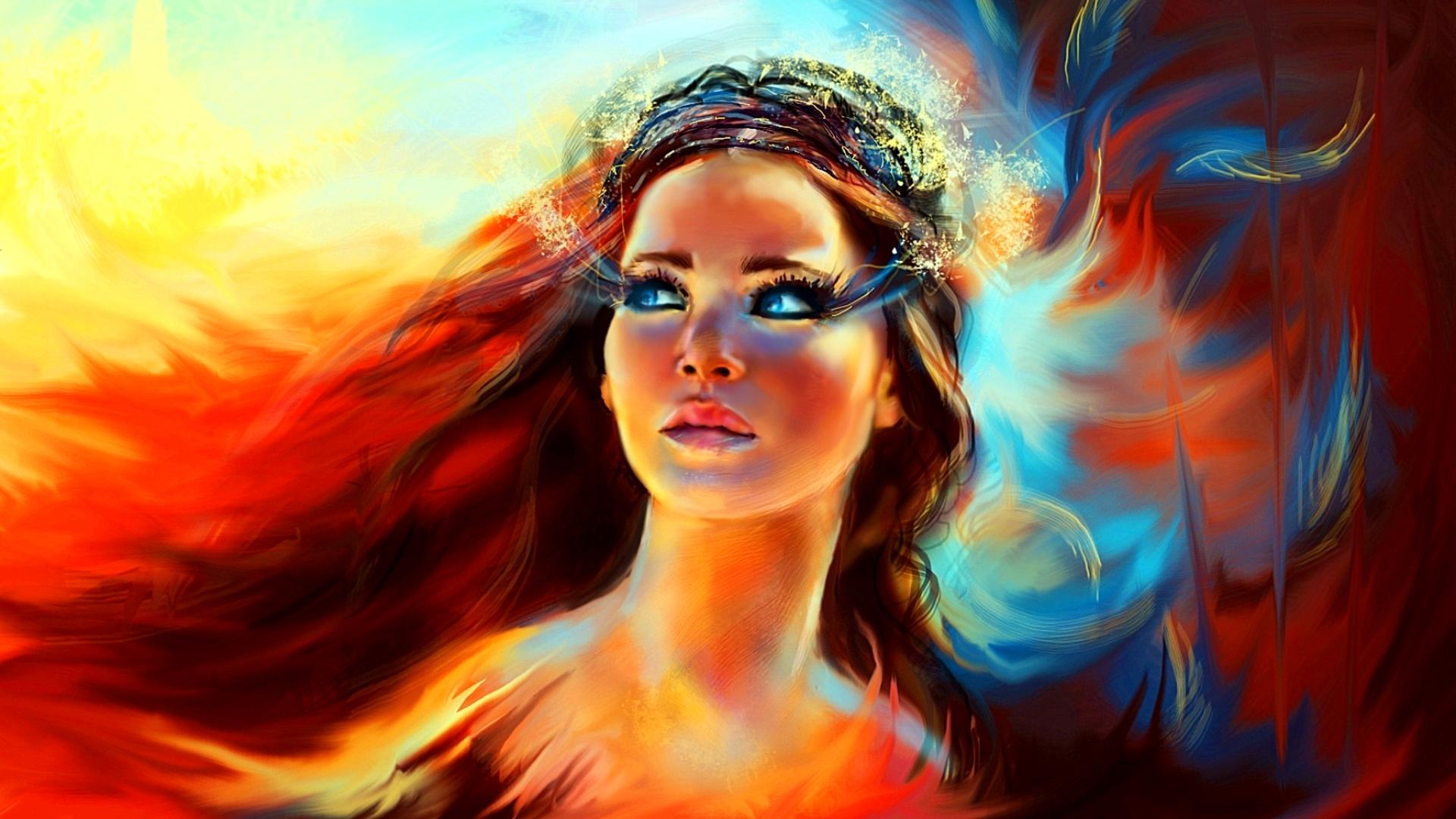 Katniss   The Hunger Games Wallpaper 37388695 1920x1080
